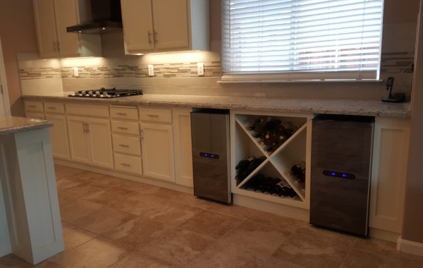 Wine Cooler – Kitchen Remodel